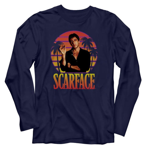Scarface Special Order Miami Sunset T-Shirt
