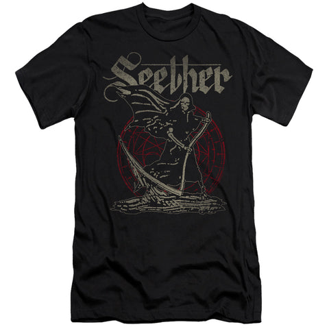 Seether Reaper Men's 30/1 Cotton Slim SS T