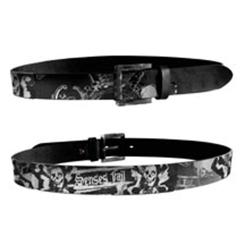 Senses Fail Foil Print With Print Patches Belt