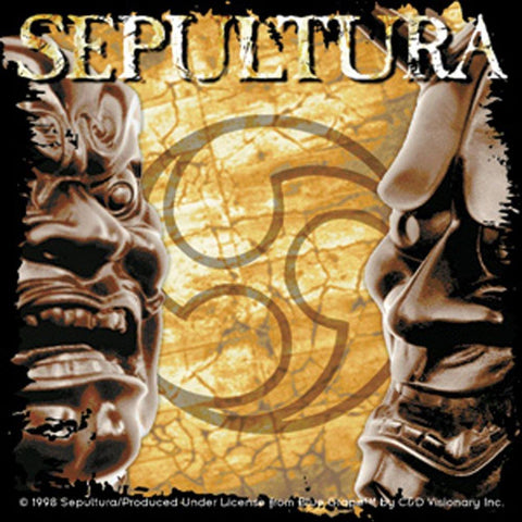 Sepultura Album Sticker
