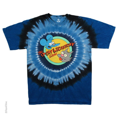 Simpsons Itchy & Scratchy Men's T-shirt