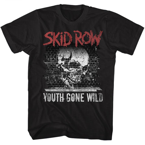 Skid Row Special Order Graffiti Gone Wild Adult S/S T-Shirt