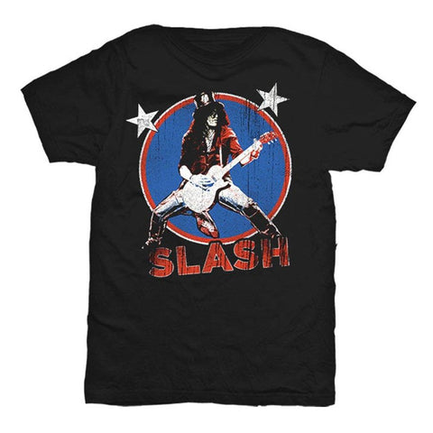 Slash Deteriorated Stars Men's T-Shirt
