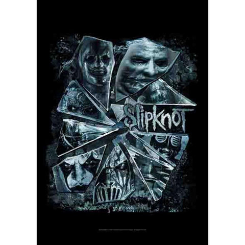 Slipknot Broken Glass Fabric Poster
