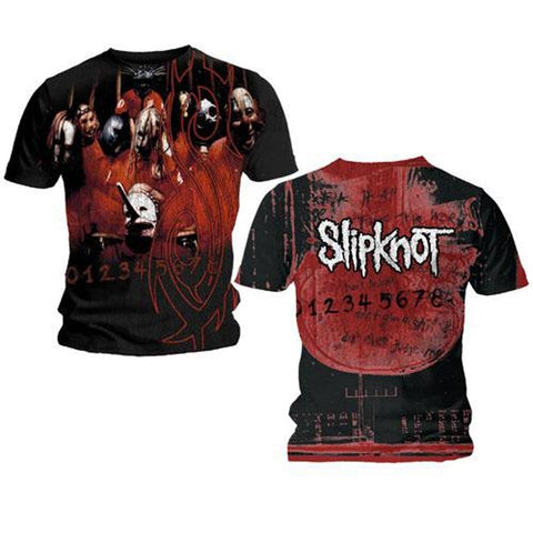Slipknot Debut All Over Men's T-Shirt