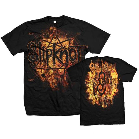 Slipknot Radio Fires Logo Men's T-Shirt