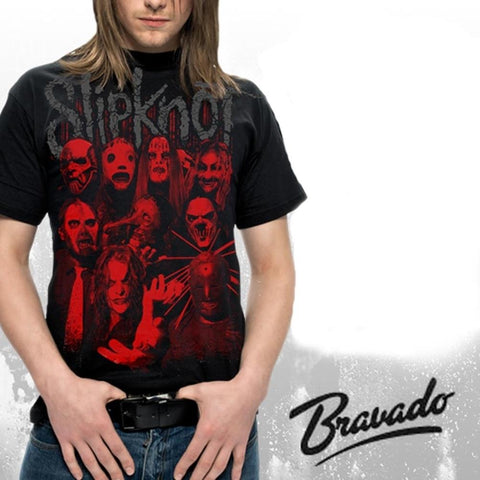 Slipknot Red Faces Men's T-Shirt