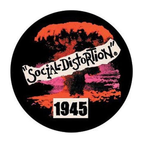 Social Distortion 1945 Button