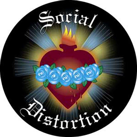 Social Distortion Blue Rose Magnet