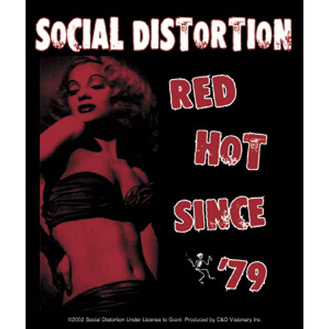 Social Distortion Red Hot Since '79 Sticker
