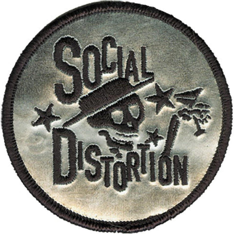 Social Distortion Skelly Logo Patch