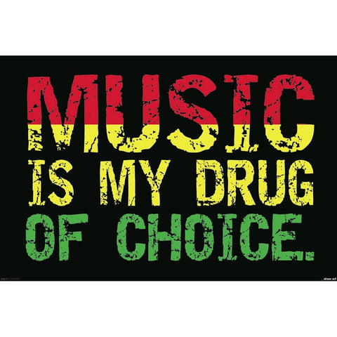 Steez Music Is My Drug Poster