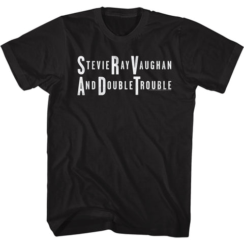 Stevie Ray Vaughan Special Order SRV&DT Adult Short Sleeve T-Shirt
