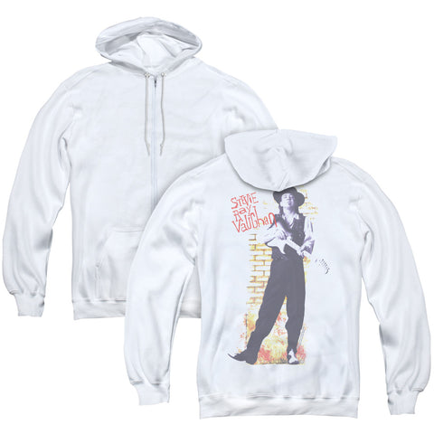 Stevie Ray Vaughan Standing Tall (Back Print) Men's Pull-Over Hoodie