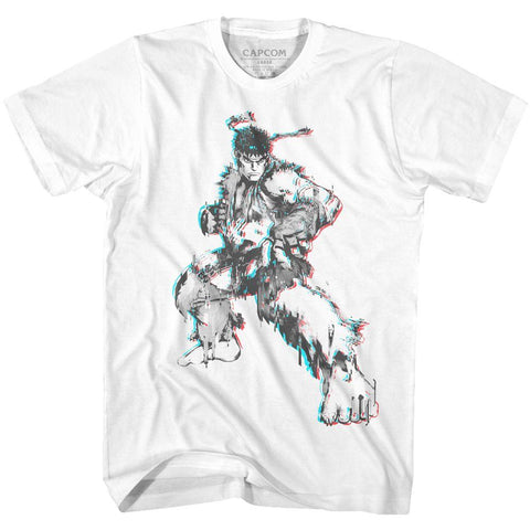 Street Fighter Special Order Glitch Fighter T-Shirt