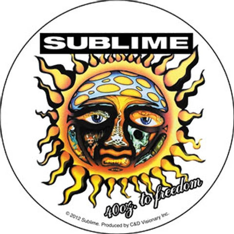 Sublime 40 Ounces to Freedom Sticker