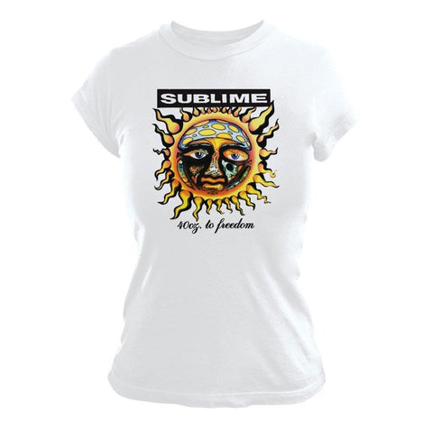 Sublime 40 Oz To Freedom Women's T-Shirt