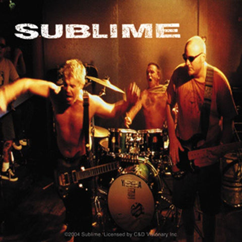 Sublime Band Photo Sticker