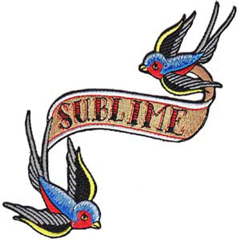 Sublime Bluebirds Patch