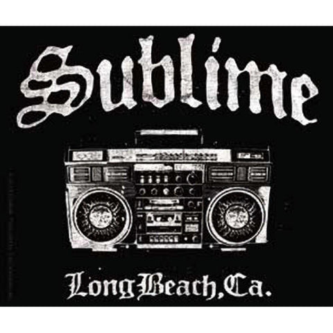 Sublime Boombox Sticker