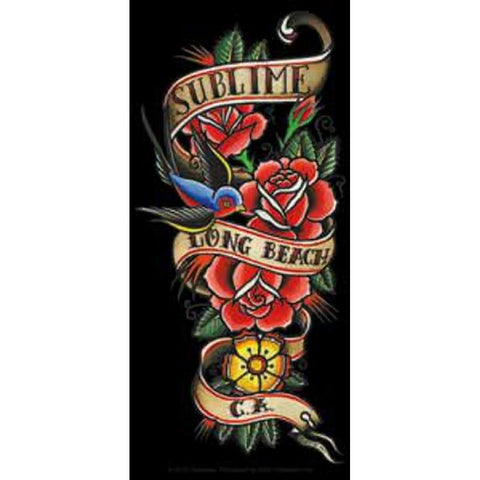 Sublime Flowers Sticker
