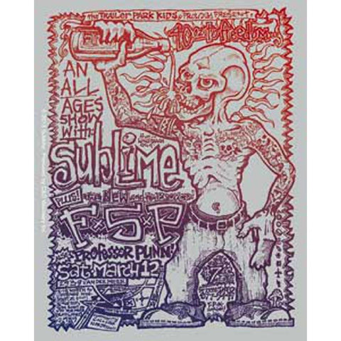 Sublime FSP Sticker