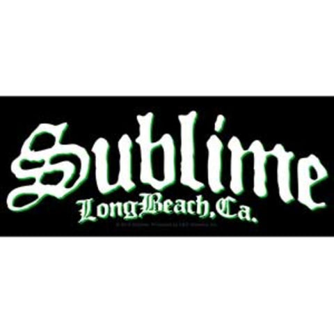 Sublime Long Beach Logo Sticker