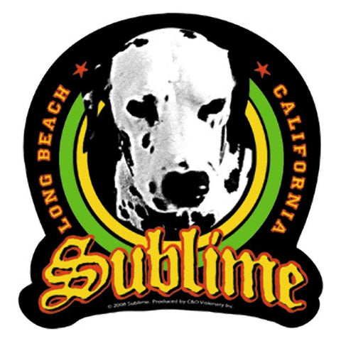 Sublime Lou Dog Long Beach Sticker