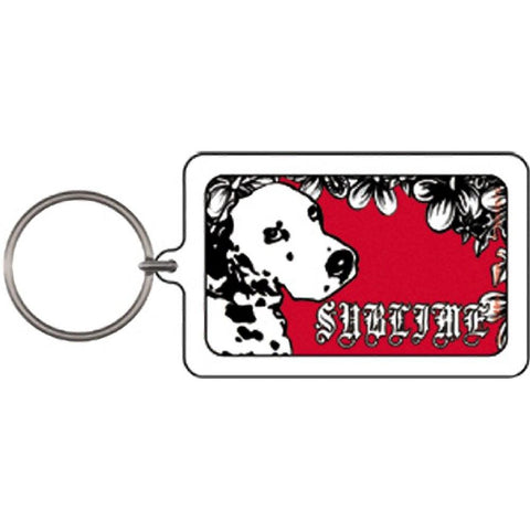 Sublime Lou Dog Lucite Keychain