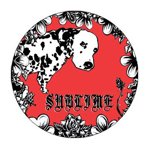 Sublime Louie Dog Button