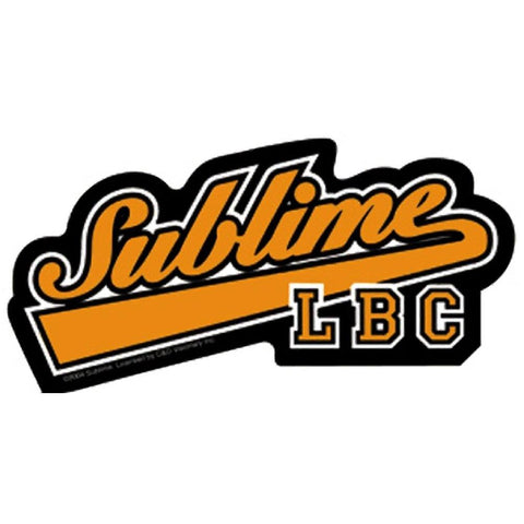 Sublime New Baseball Logo Sticker