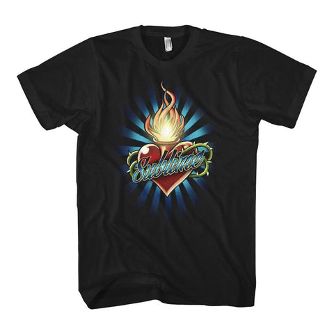 Sublime Torched Heart Women's T-Shirt