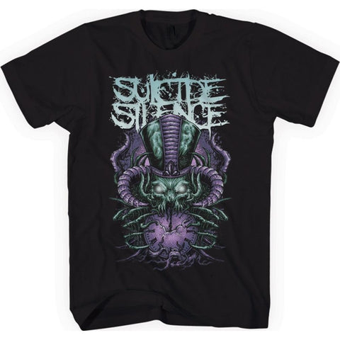 Suicide Silence Purple Time Stealer Men's Premium Soft T-Shirt