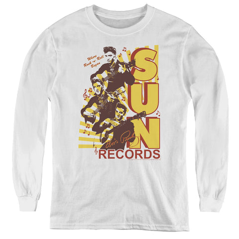 Sun Records Tri Elvis Youth LS T