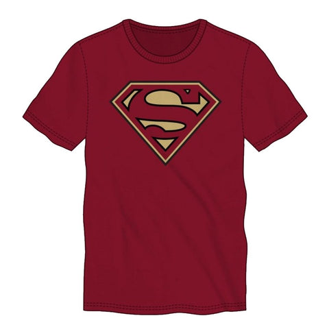 Superman Gold Logo Men's T-Shirt
