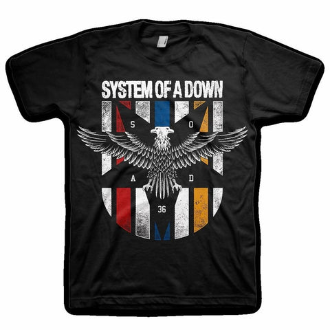 System Of A Down Eagle Colors Men's T-Shirt