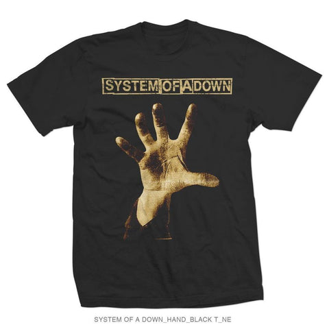 System Of A Down Hand Men's T-Shirt