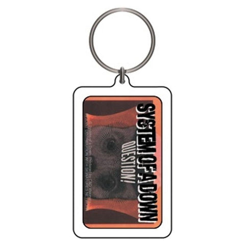 System of a Down Question! Lucite Keychain