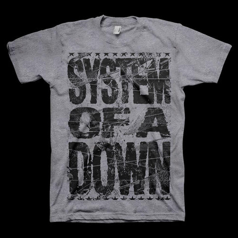 System Of A Down Shattered Men's T-Shirt