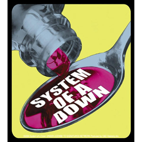 System Of A Down Spoonful Sticker