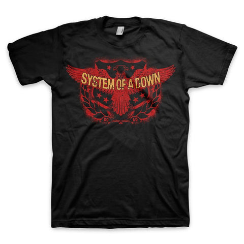 System Of A Down Spread Eagle Men's T-Shirt