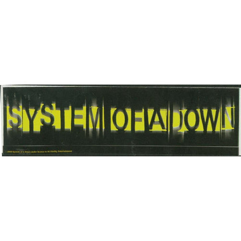 System of a Down Sticker