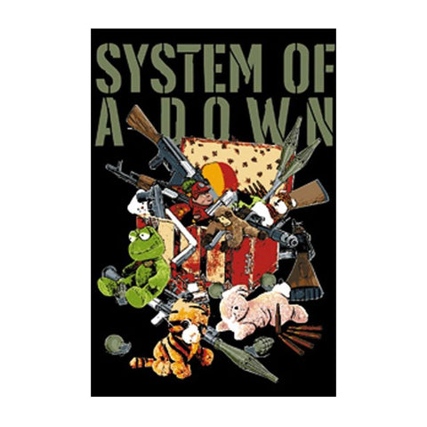 System of a Down Stuffed Animals Magnet