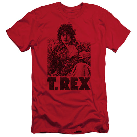 T Rex Special Order Lounging Men's 30/1 100% Cotton Slim Fit Short-Sleeve T-Shirt