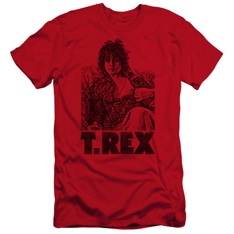 T Rex Special Order Lounging Men's Premium Ultra-Soft 30/1 100% Cotton Slim Fit T-Shirt - Eco-Friendly - Made In The USA