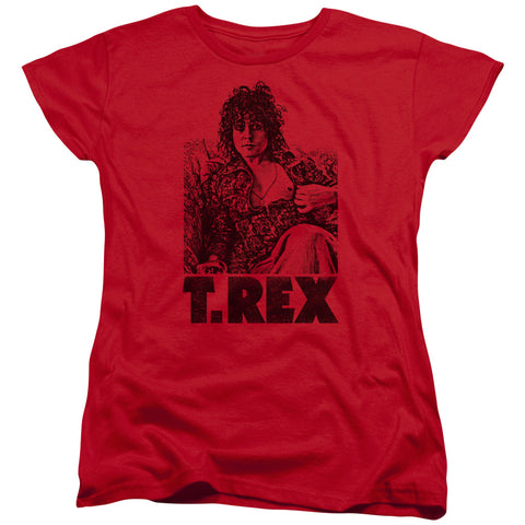T Rex Special Order Lounging Women's 18/1 100% Cotton Short-Sleeve T-Shirt