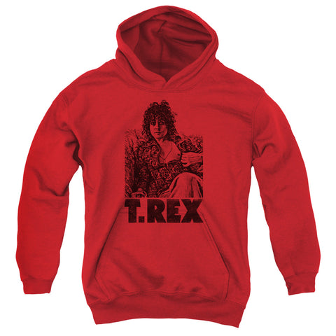 T Rex Special Order Lounging Youth 50% Cotton 50% Poly Pull-Over Hoodie