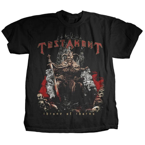 Testament Throne Of Thorns Men's T-Shirt