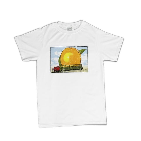 The Allman Brothers Band  Eat A Peach Distressed Men's T-Shirt