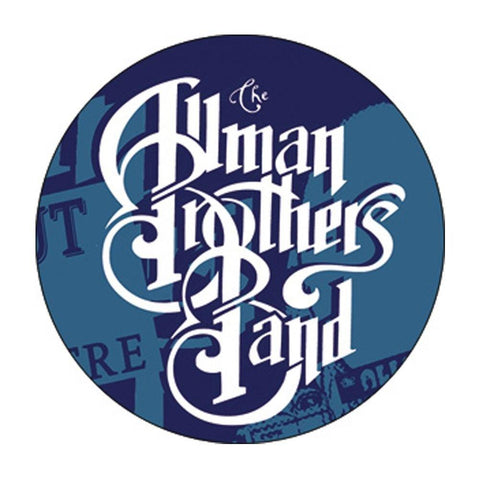 Allman Brothers Logo Button